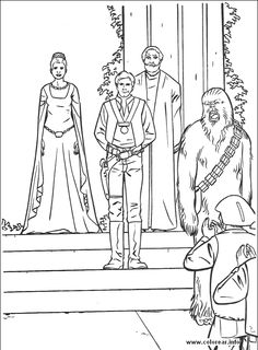 Qui Gon Jinn coloring page from The Phantom Menace