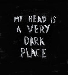 THE DARKNESS IS SO SWALLOWING THAT I CANNOT COME OUT...... ITS TAKING ME DEEPER AND DEEPER..... I FEAR LOSING MYSELF IN THIS DARKNESS