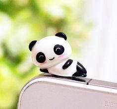 Panda dust plug