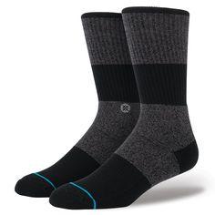Stance | Cobble Black | Men's Socks | Official Stance.com