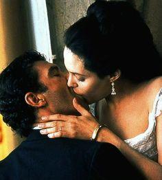 """Antonio Banderas and Angelina Jolie, """"Original Sin"""""""