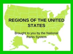 You can use this free Powerpoint of the five United States regions alone or with my United States Regions lesson bundle. Each region is introduced...