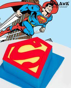 Süperman Doğum günü pastası