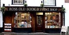 Ross Old Book Shop, Ross on Wye. | 19 Magical Bookshops Every Book Lover Must Visit