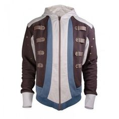 The Assassin's Creed Black Flag Edward Kenway Jacket worn by the character in the most popular game Assassins Creed has become a lot popular among the fans and fellow gamers. Assassins Creed Hoodie, Assassins Creed Black Flag, Distressed Leather Jacket, Men's Leather Jacket, Leather Jackets, Black Leather, Assassin's Creed Black, Edwards Kenway, Outfit