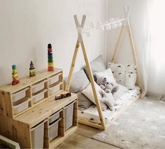 Einloggen, The Effective Pictures We Offer You About Montessori nursery A quality picture can tell you many things. You can find the most beautiful pictures that can be presented to you abo Baby Bedroom, Baby Room Decor, Kids Bedroom, Room Kids, Room Ideias, Montessori Room, Toy Rooms, Kid Spaces, New Room