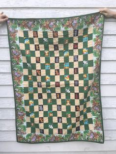 Baby Quilt #1 for My Sister's Quilts series.  A great neutral quilt for a beginner to sew.