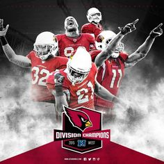Arizona Cardinals - Best In The West! 2015 NFC West Champions! Sunday, December 20th