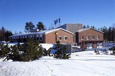 Petäjävesi, Fingrid Oyj:n toimipiste talvella.
