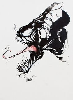 francisco herrera art | Francisco Herrera - Venom Comic Art