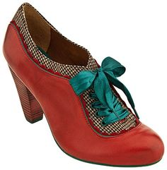 Poetic Licence shoes - they come in saffron also. AND have violet soles... Total lust!
