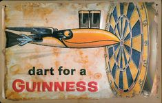 dart for a Guiness AD