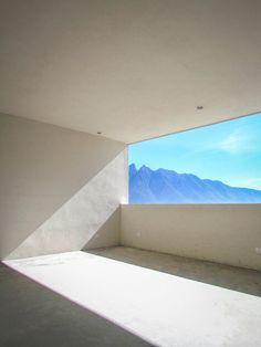 IPE House, Monterrey, 2014 - P+0 Arquitectura #landscape #window #terrace #architecture