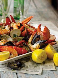 Seafood........