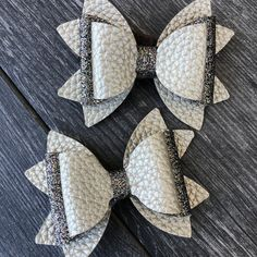 Beautiful Bundle Leopard Print Canvas Glitter Pigtail Bows// Baby Toddler