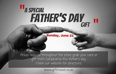 Great value at Cardarama this Father's Day.