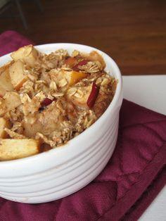 The Oatmeal Artist: Apple Pie Baked Oatmeal
