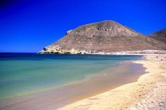 one of the many beaches along the part of the coast under the National Park of Cabo de Gata-Nijar