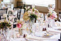 A soft, garden wedding. Wedding Designs, Wedding Ideas, Edge Design, Garden Styles, Garden Wedding, Table Settings, Romantic, Table Decorations, Flowers