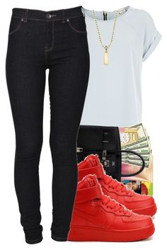 """""""10/25/2015"""" by swagger-on-point-747 ❤ liked on Polyvore featuring River Island, Dr. Denim and 1928"""