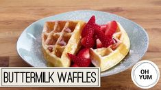 Bake With Anna Olson TV Show recipes on Food Network Canada; your exclusive source for the latest Bake With Anna Olson recipes and cooking guides. Breakfast Waffle Recipes, Breakfast Waffles, Pancakes And Waffles, Mexican Breakfast, Pancake Recipes, Breakfast Sandwiches, Breakfast Bowls, Breakfast Ideas, Best Waffle Recipe