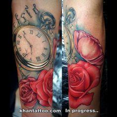 relogio tattoo - Pesquisa Google
