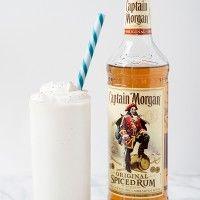 Coconut Rum Boozy Shake