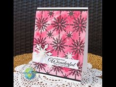 Stamp of Approval Holiday Magic: Snowflake Brocade – Catherine Pooler - Video