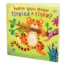 This one is a great touch & feel book.  A nice variety of animals & textures.  Different than most (penguin, hedgehog, walrus, ostrich, armadillo, octopus).