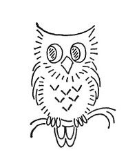 I like drawing owls...this one's really cute. :)