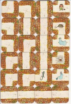Tuiles 2 Labyrinthe