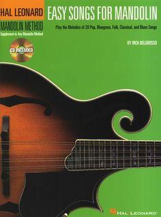 Hal Leonard Mandolin Method: Easy Songs For Mandolin - Book & CD. £11.95