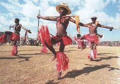 African dance: Sotho dancers