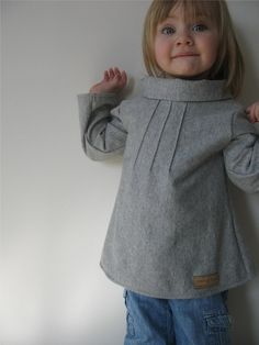 Pintuck Sweater Tunic pattern and tutorial. Gotta find an angora sweater at Goodwill and make this out of it!