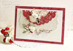 walentynka w klasycznych kolorach z ćwiekiem serduszkiem Valentines Day, Scrapbooking, Paper, Frame, Anna, Home Decor, 3d, Valentine's Day Diy, Picture Frame