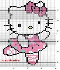 hello kitty punto de cruz - Buscar con Google