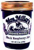 Black Raspberry Jam: 3 jars Mrs Millers Homemade Raspberry Preserves, Coconut Oil, Homemade, Food, Coconut, Marmalade, Raspberries, Corning Glass, Benefits Of