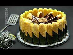 Tort fara coacere cu ciocolata sau tort de ciocolata fara coacere reteta rapida