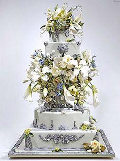 Ron Ben Israel wedding cake