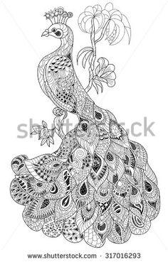 Stock Images similar to ID 265729748 - zentangle stylized octopus ...