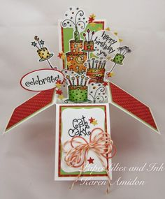 Eat Cake Card in a Box