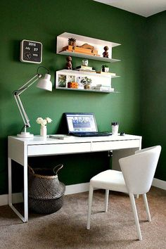 My New Home Office is Now Revealed. - Swoon Worthy My New Home Office is Now Revealed. home office w