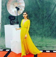 Manuela Vellés asistió a la Gala de los Premios Goya 2016, con un vestido muy especial de Cortana