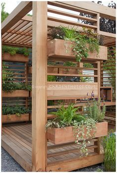 porch planter ideas | Nine Red: 9 Space Saving Herb Gardens