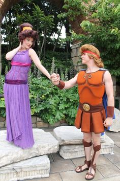 Meg and Hercules!    (Photo taken by a Japanese friend Nami, taken from facebook.)