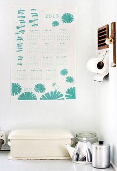 The 2013 fabric calendars are here! : Lotta Jansdotter $24