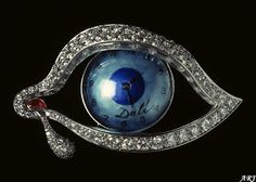 "Artemisia's Royal Jewels: Spanish Royal Jewels: Queen Sofia's ""The Eye of Time"" Brooch"