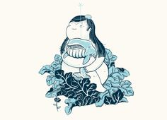 """threadless:  """"I like to imagine water would squirt out their..."""