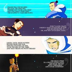 Sokka quotes in all their sokkaness