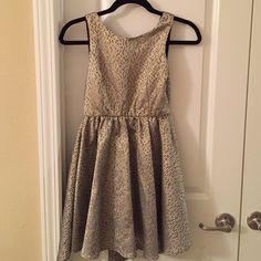 GB Girls Black and Gold GB Girls size 12 LIKE NEW Giani Bernini Dresses Mini